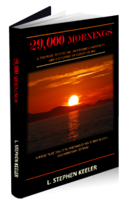 "Cover of ""29,000 Mornings"", a book by Stephen Keeler"