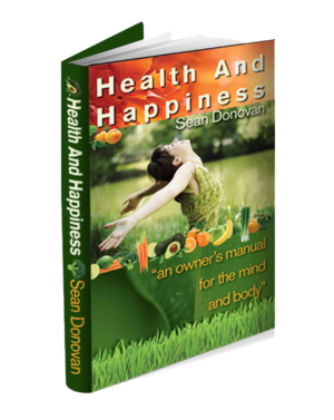 """Health and Happiness: An Owner's Manual for the Mind and Body"" book cover"