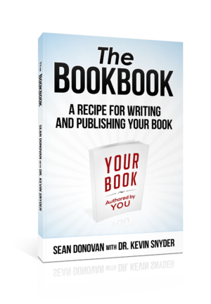 """The BookBook: A Recipe for Writing and Publishing Your Own Book"" book cover"