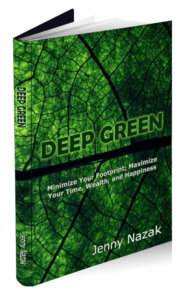 "Cover of ""Deep Green"", a book by Jenny Nazak"