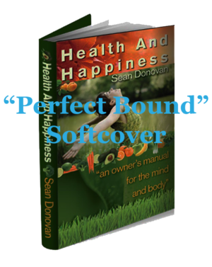 Health and Happiness Perfect Bound Softcover/Paperback book cover